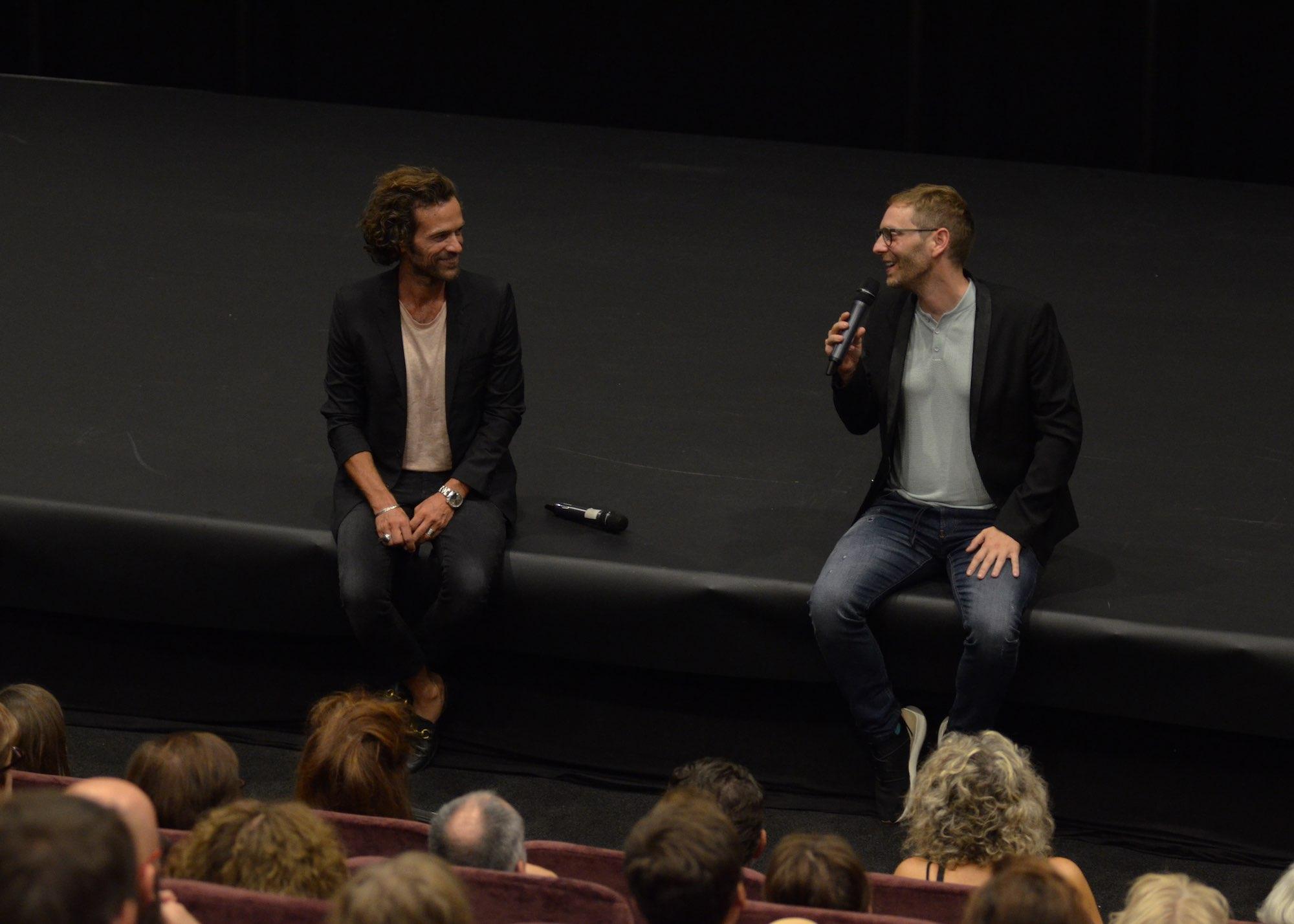 Romain Duris et Guillaume Senez - Avant-première du film NOS BATAILLES - Mercredi 19 Septembre 2018